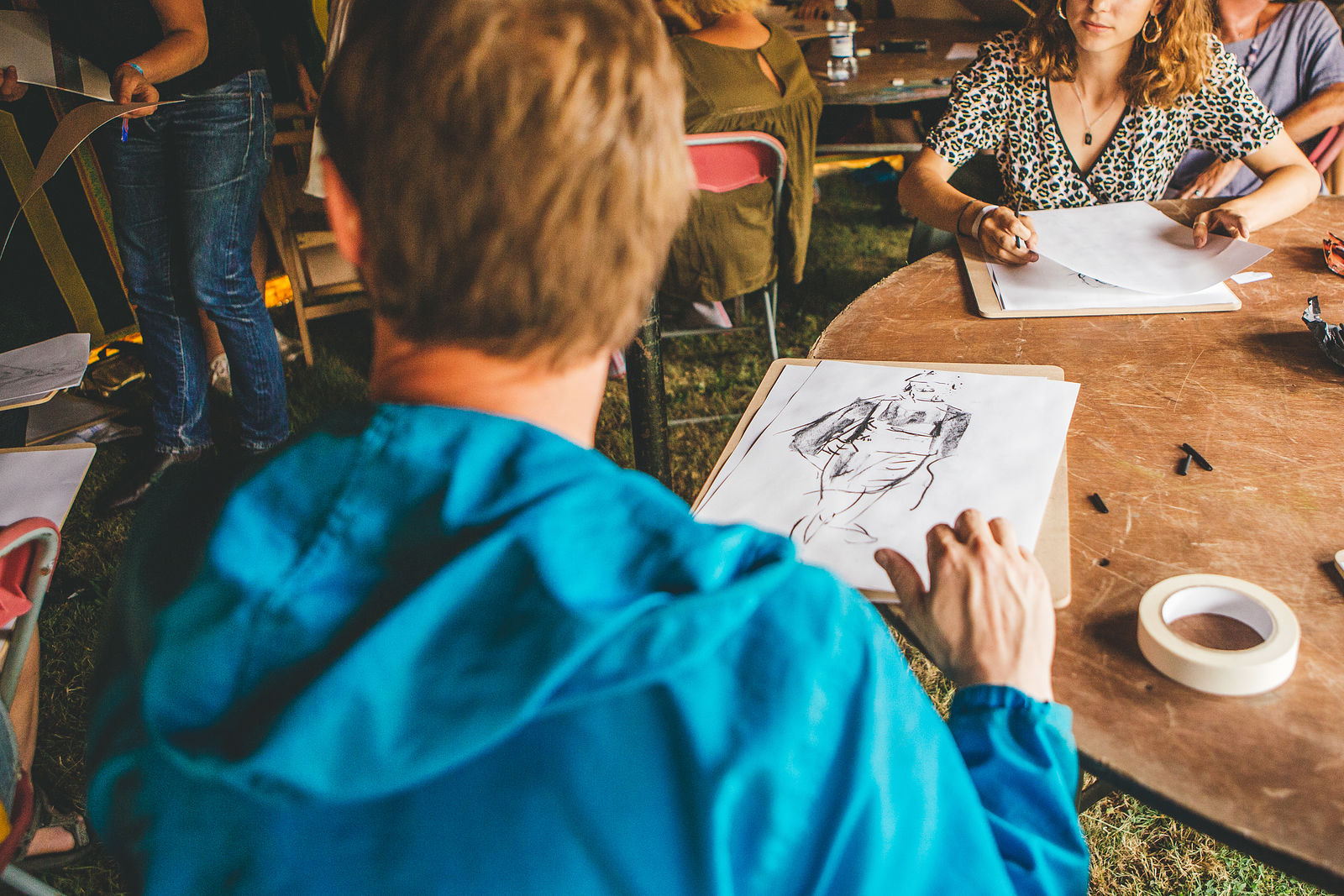 Life Drawing With Deli Lycett Green