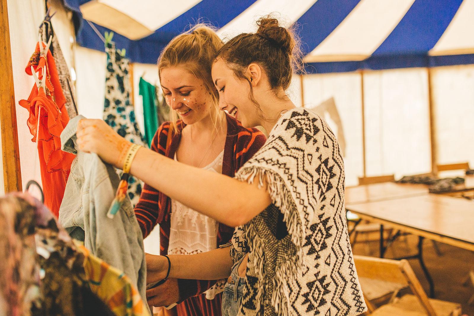Port Eliot Clothes Swap