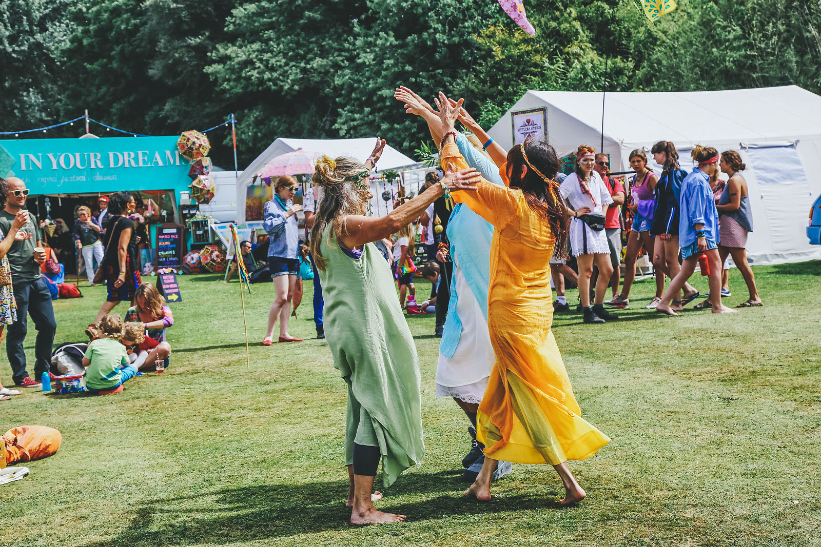 Dancers on the Lawn