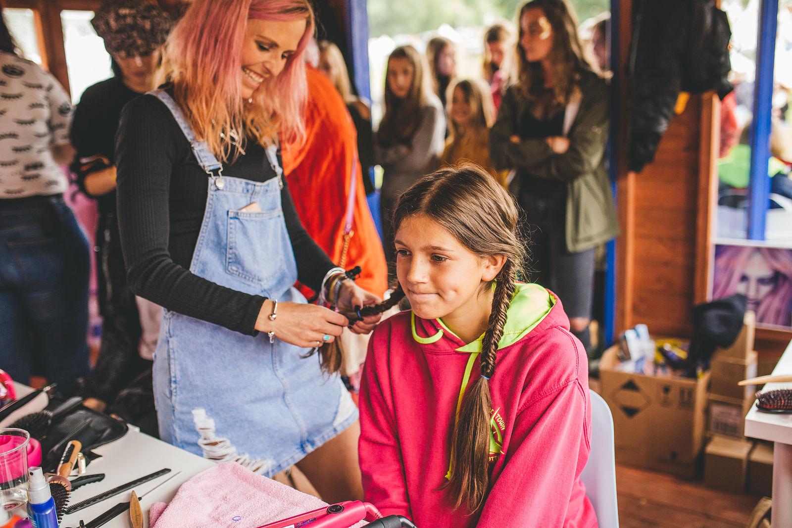 Schwarzkopf Hairdressing Tent