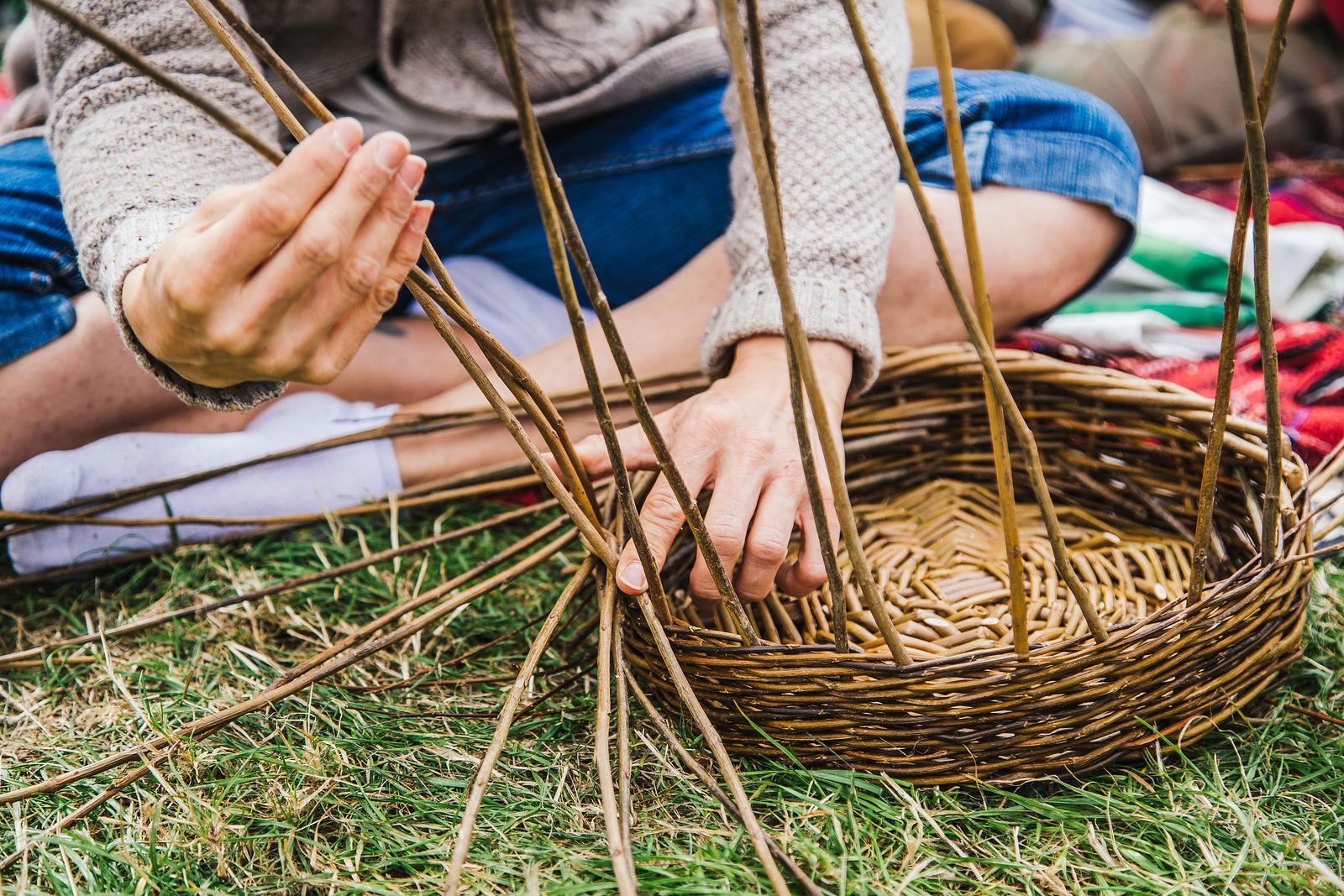 Wydwood willow making workshop