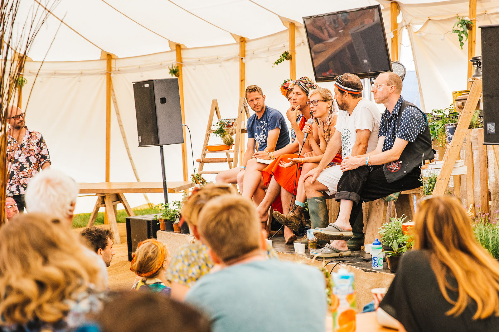 The Great Garden O'Feeden Food Debate