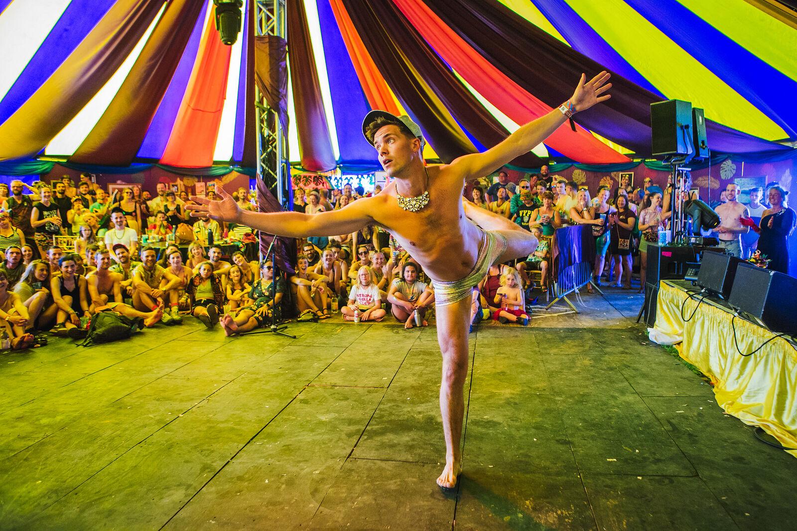 Dan Swank Interpretive Dance