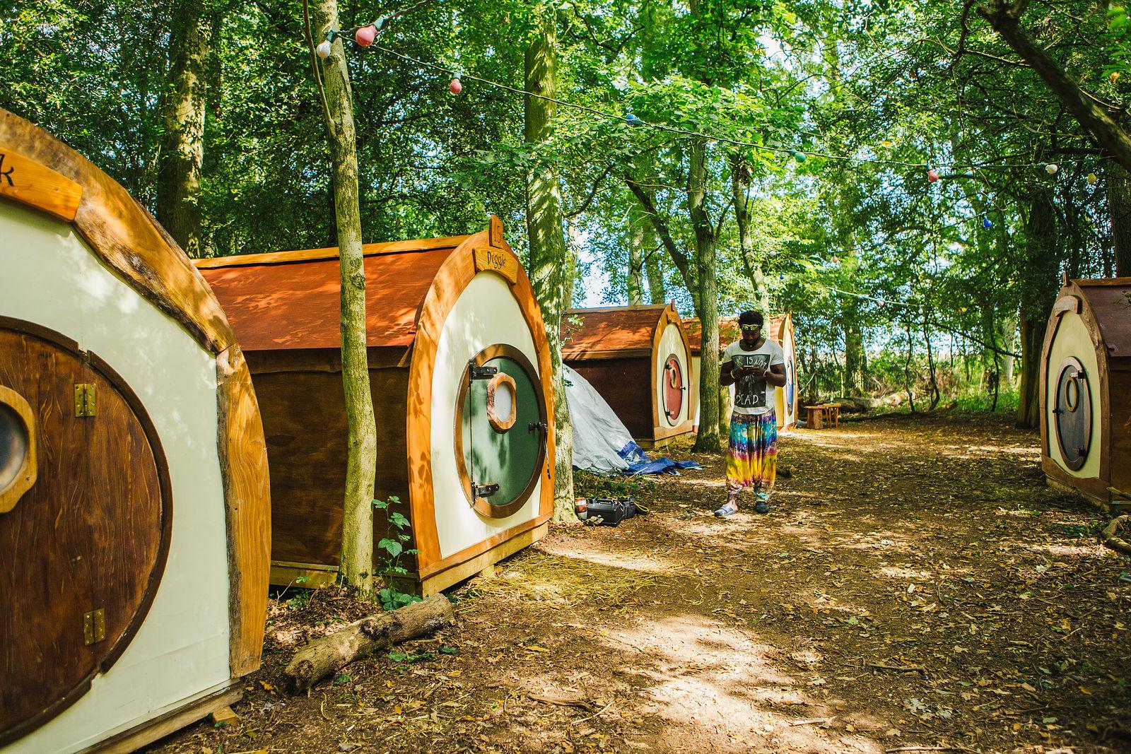 Hobbit Huts Glamping