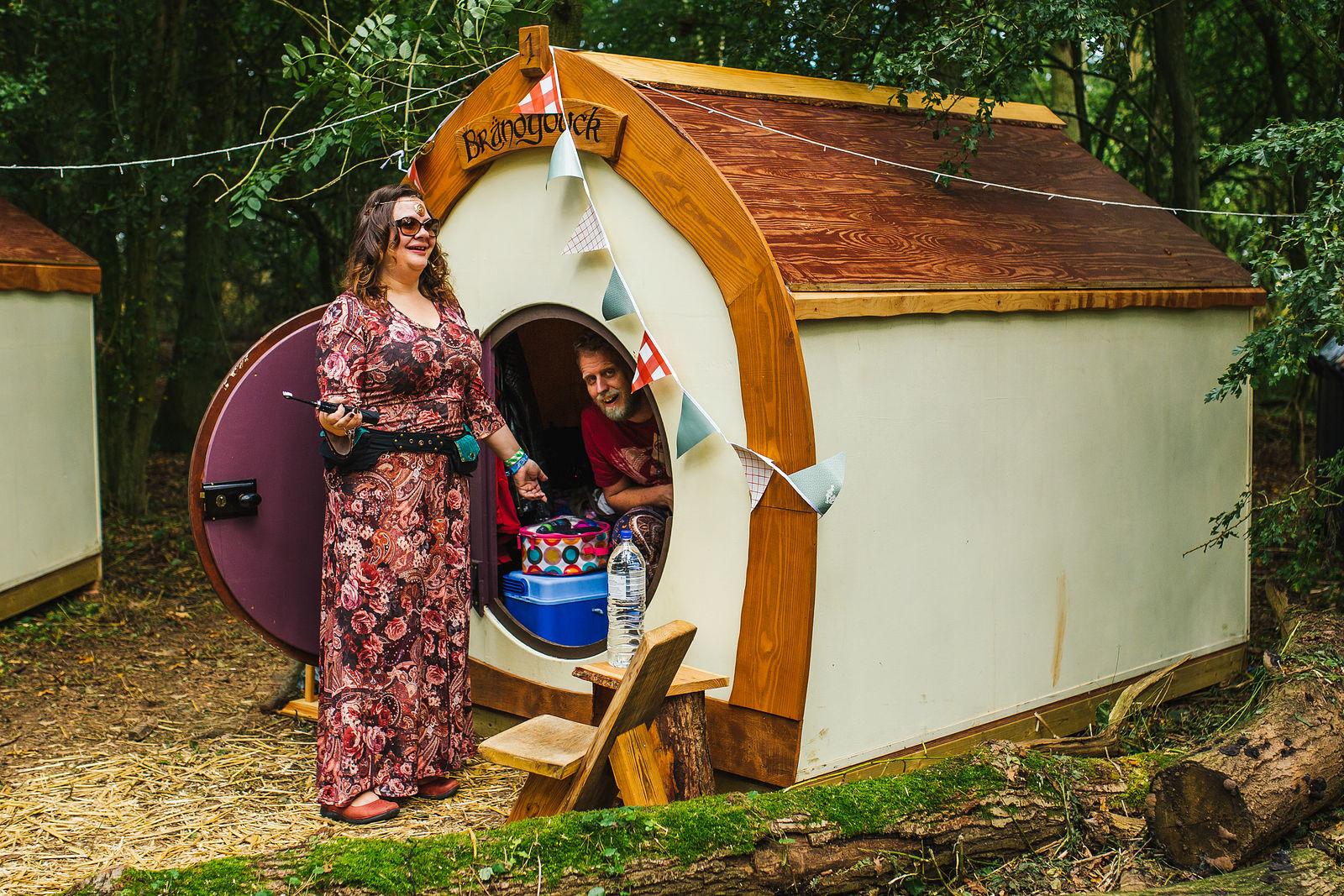Hobbit Houses - Boutique Camping