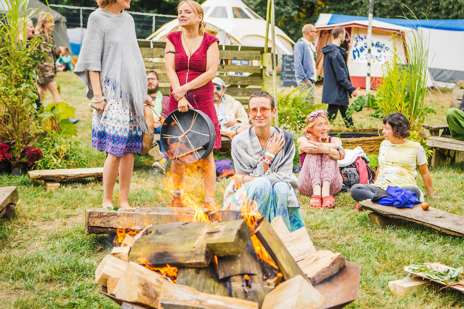 The Healing Meadow Opening Ceremony