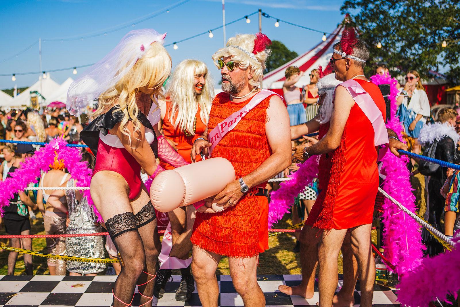 Horny Hen Party