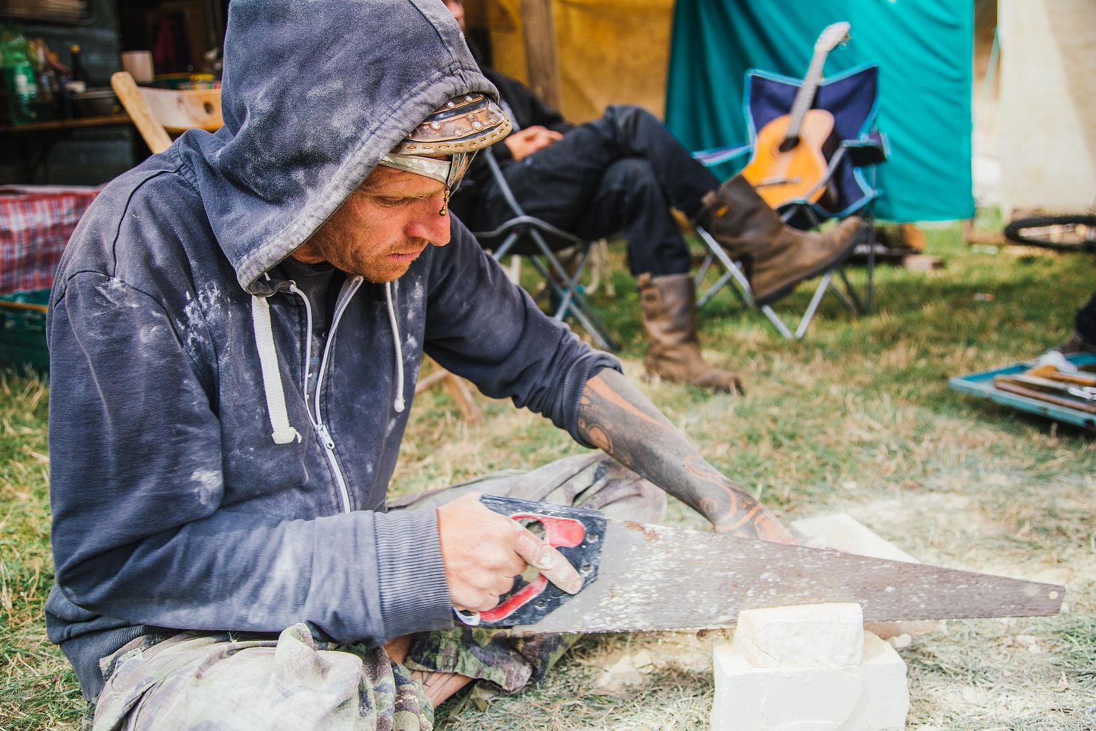 Chalky Talk Carvings workshop