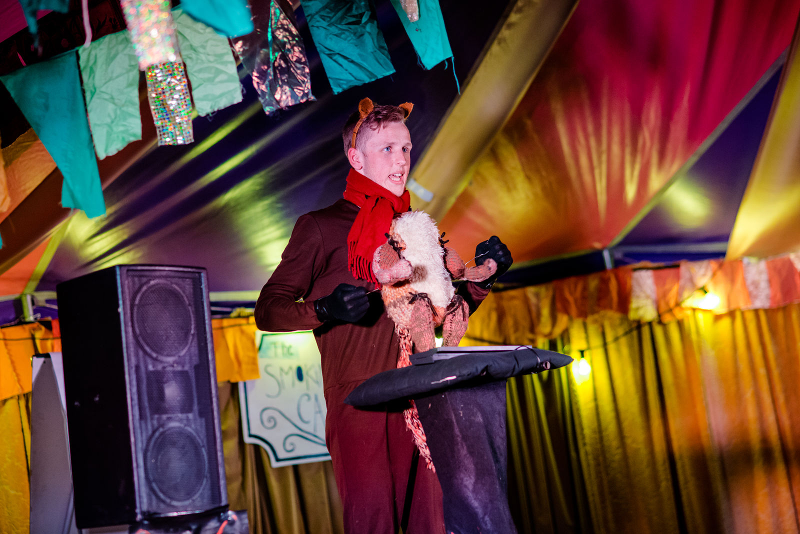 The Smoking Puppet Cabaret Puppetry Tent