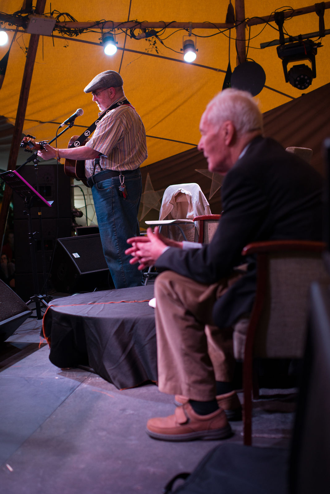 Tony Benn & Roy Bailey