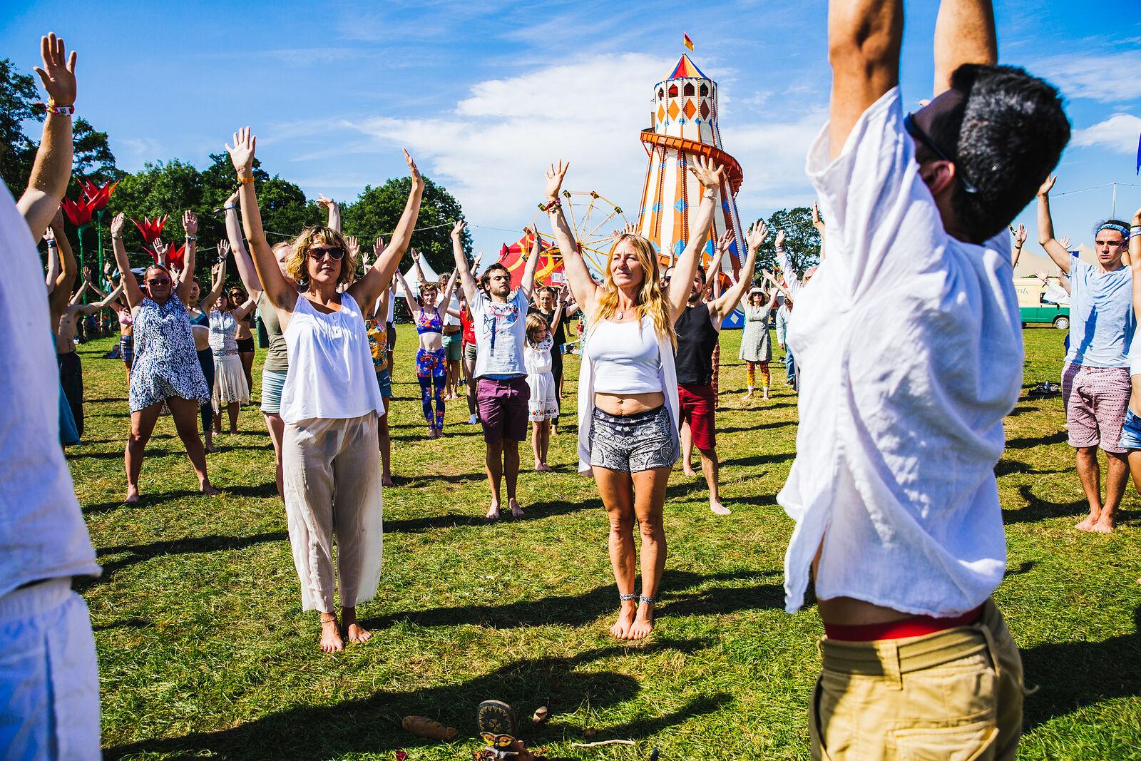 Yoga Lotus Living Mandala