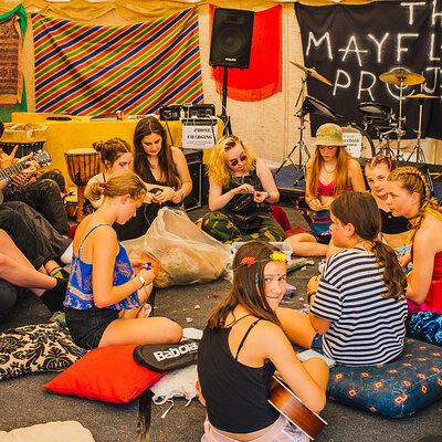 Mayflower Teen Tent