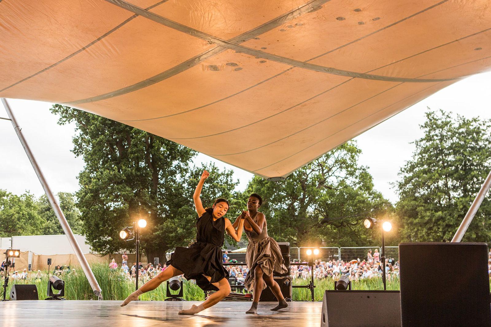 Salder's Wells pressents BBC Young dancer 2017 finalists