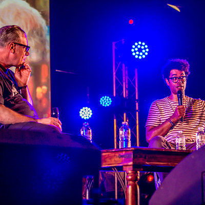 Richard Ayoade icw Mark Kermode