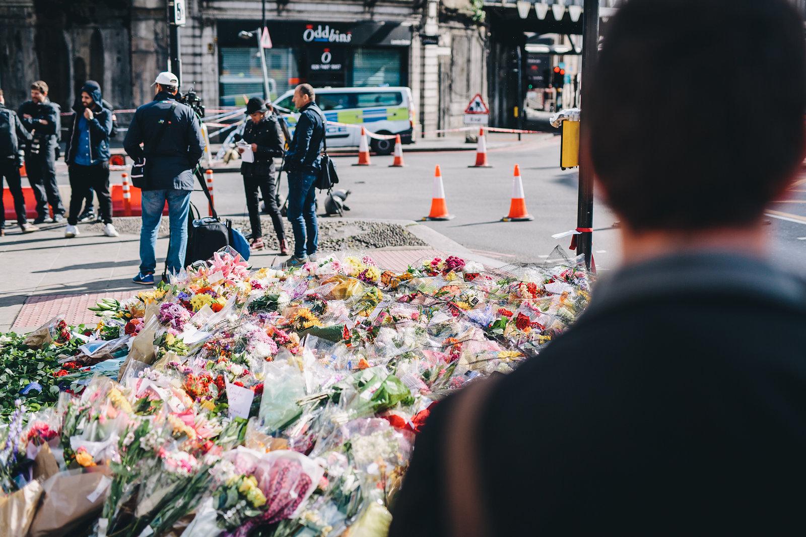 London Bridge Floral Tributes