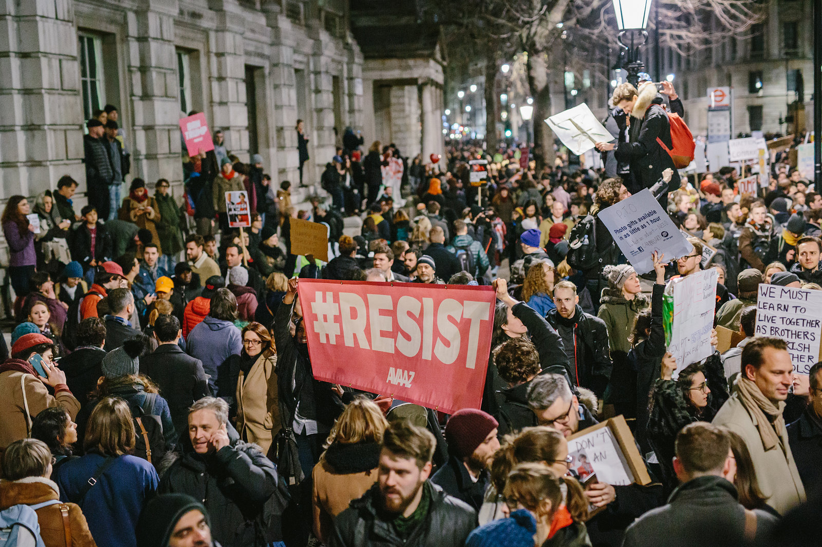 US Immigration Ban Protest