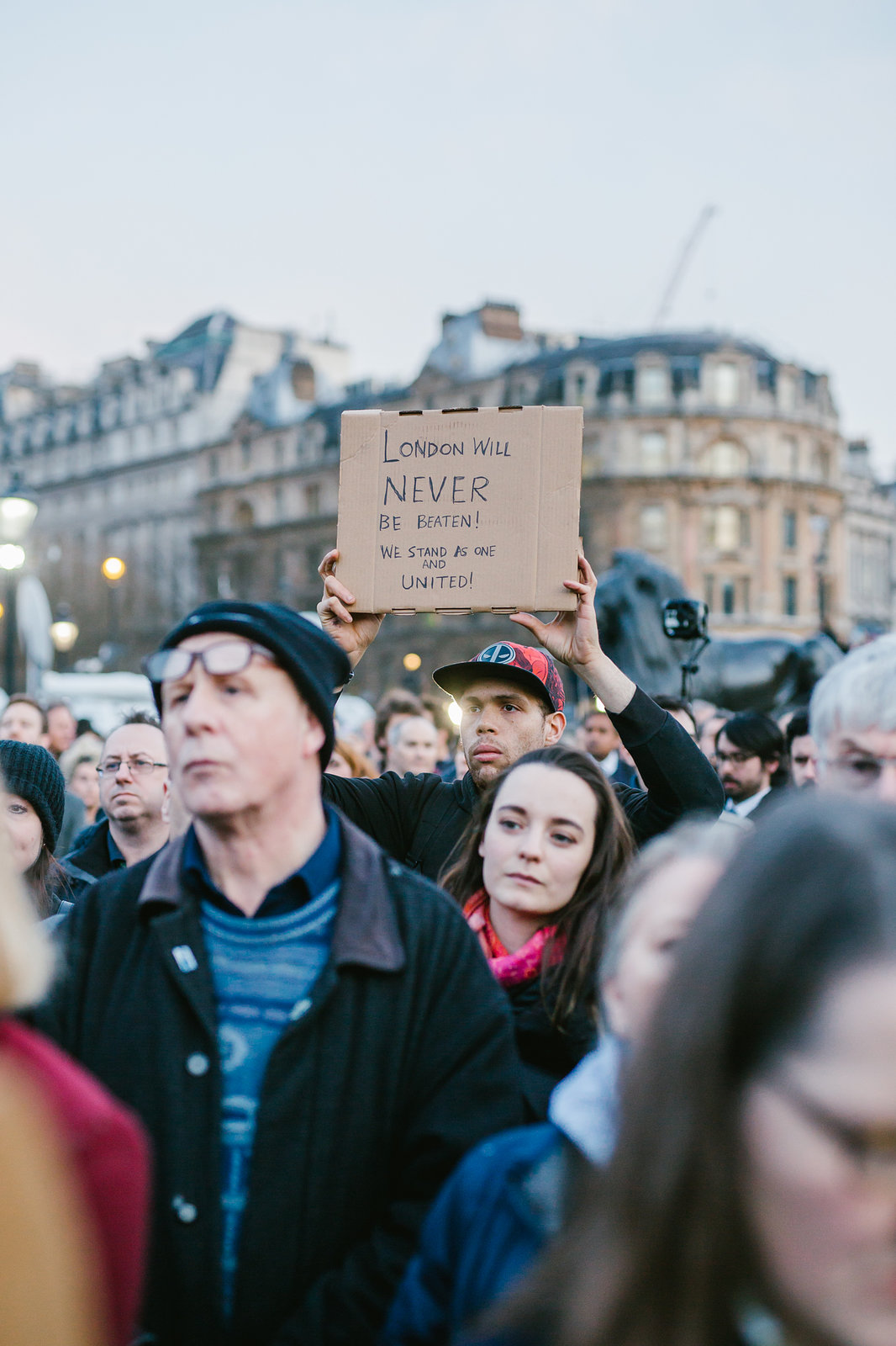 Vigil for the attack on Westminster