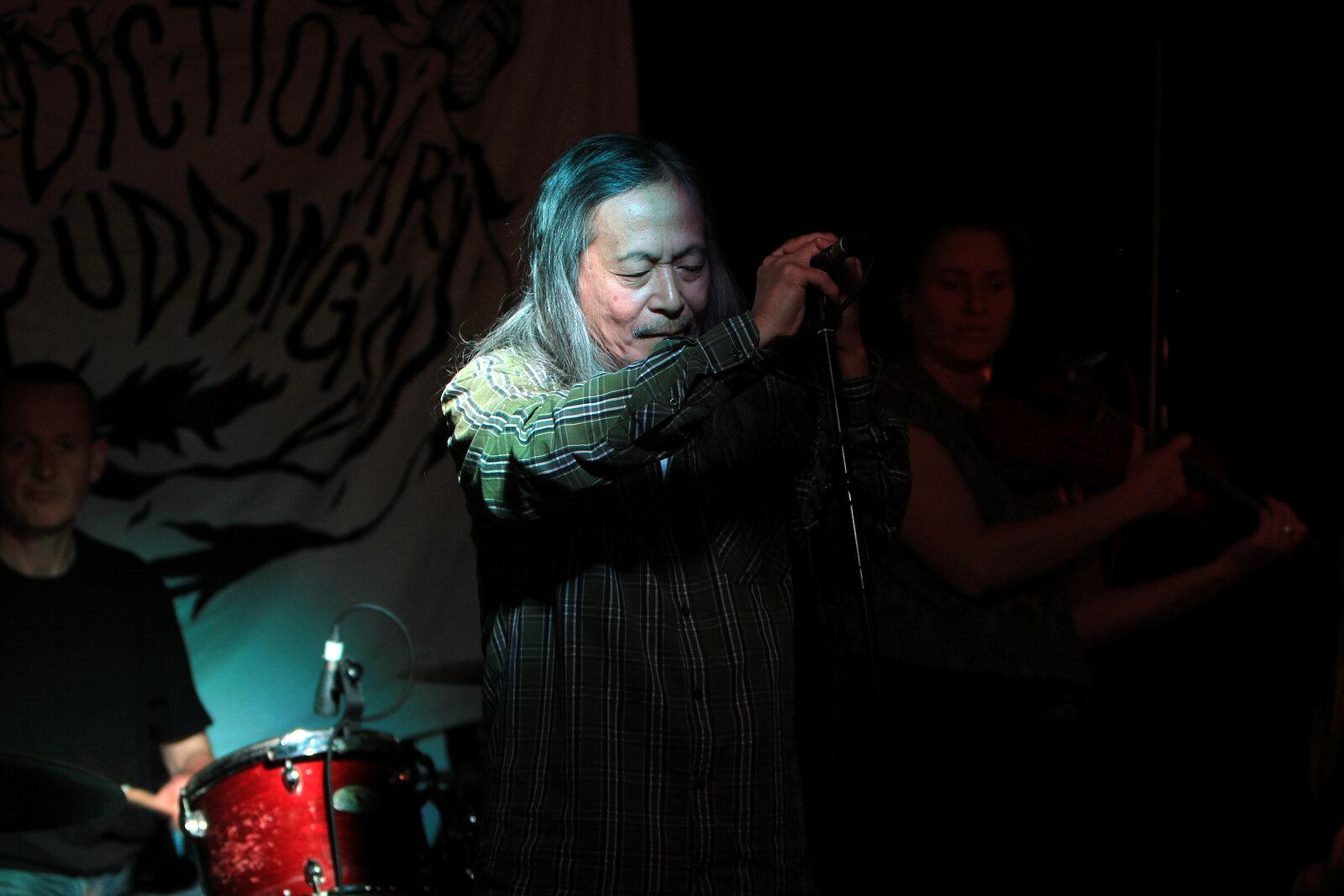 Damo Suzuki Tour - Brighton Sound Check - 2016