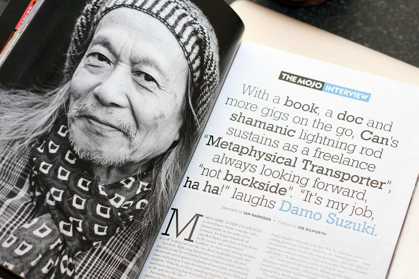 Mojo Magazine , in stores 22 May 2018