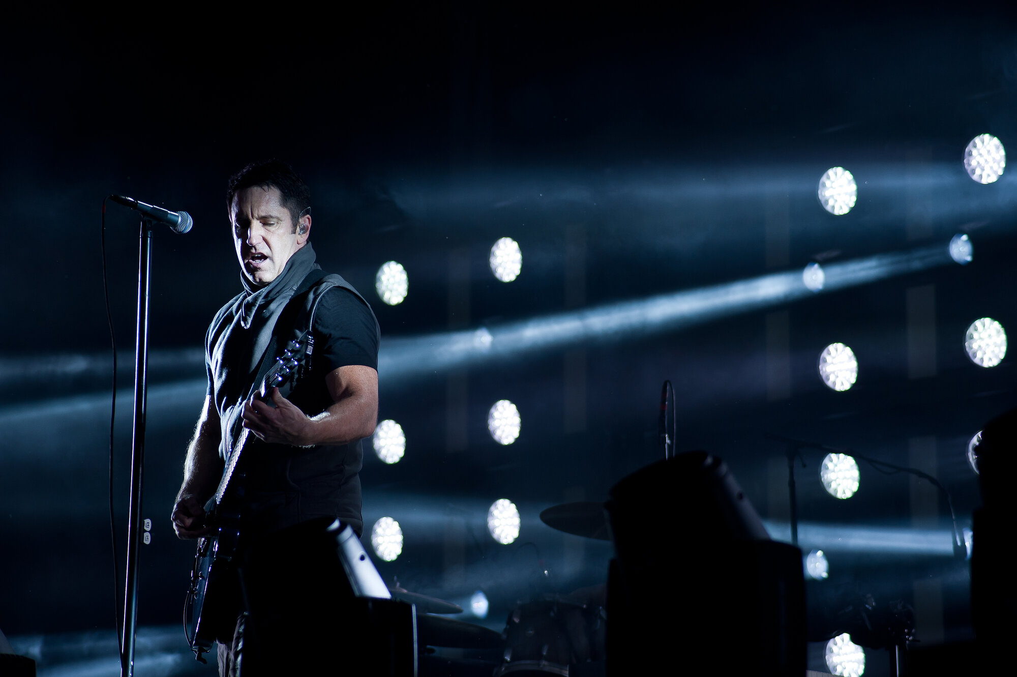 Nine Inch Nails at Leeds Festival, August 2013