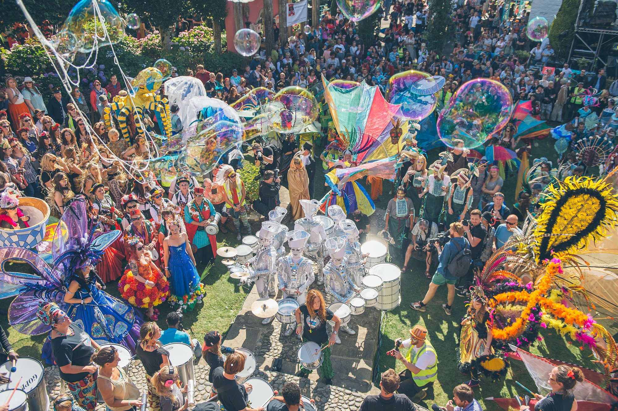 The No. 6 Carnival Finale at Festival No. 6