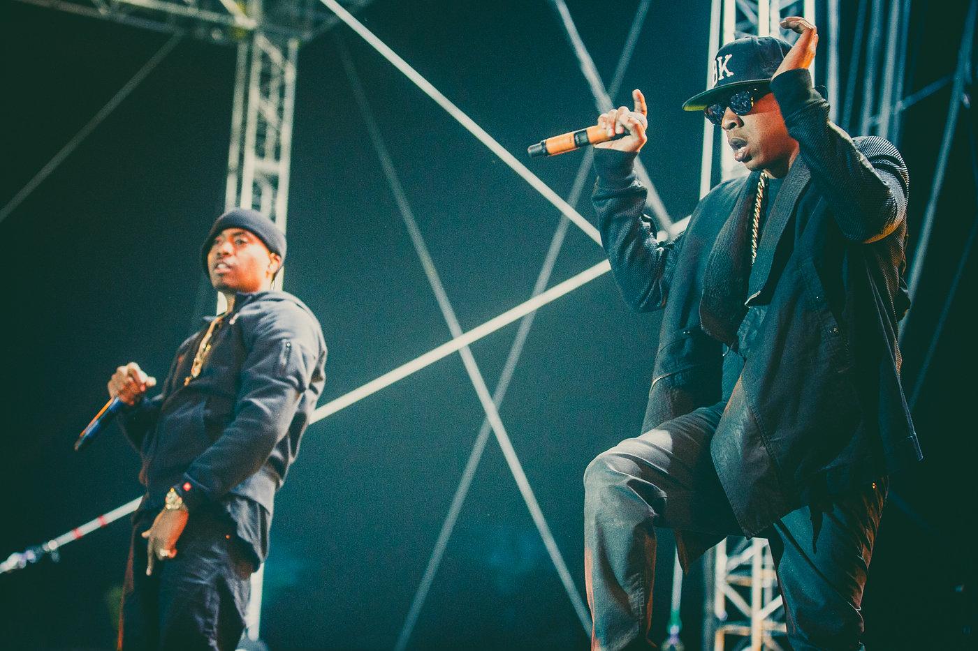 Jay Z + Nas
