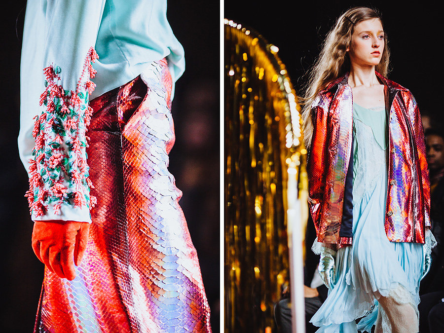 Meadham Kirchhoff AW'14 by Kris Atomic