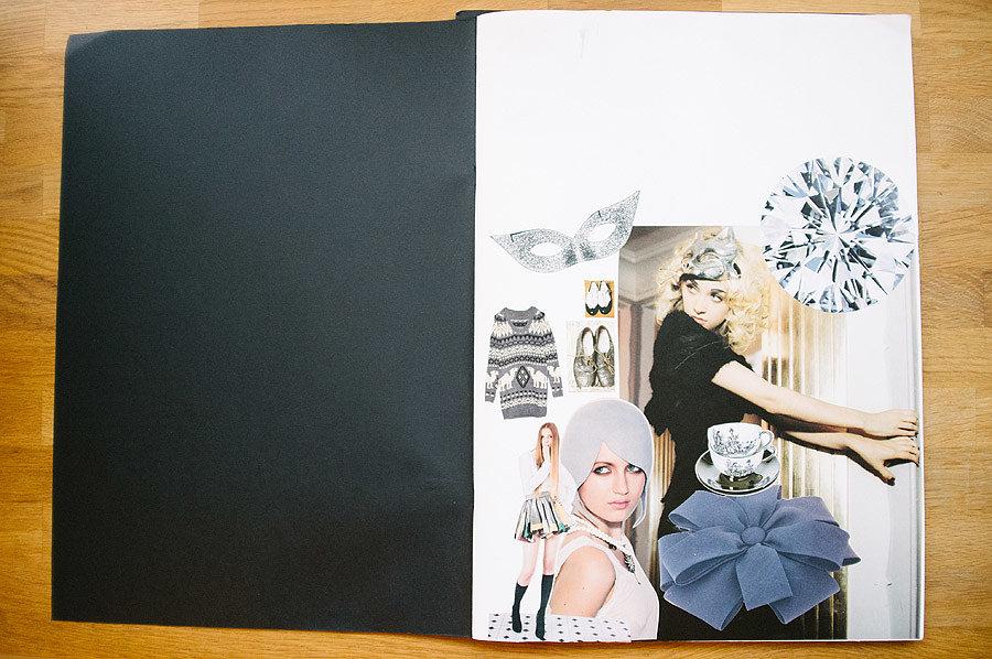 Kris Atomic Magazine Collages