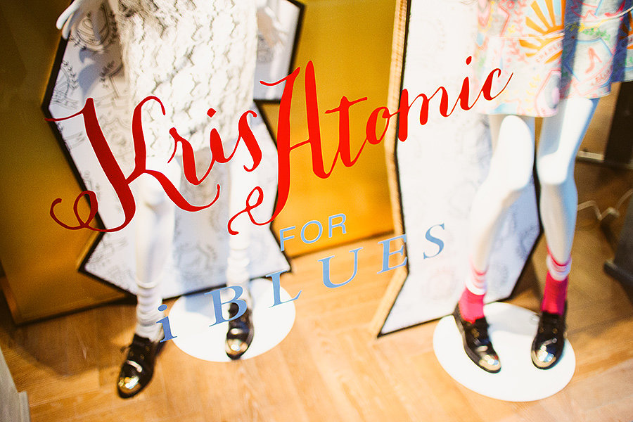 Kris Atomic x iBlues AW14