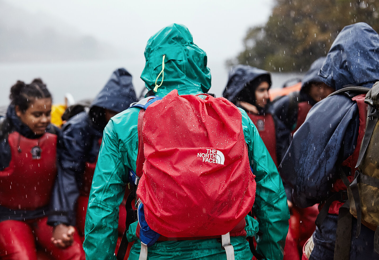 Adventure, Lake District, Lifejacket, The North Face, The Outdoors, The Outward Bound Trust, nature, rain, waterproof