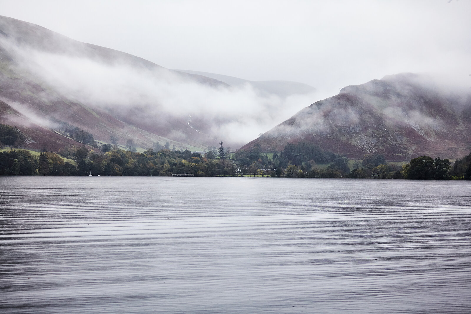 fog, lake district, mystery, the outdoors, united kingdom