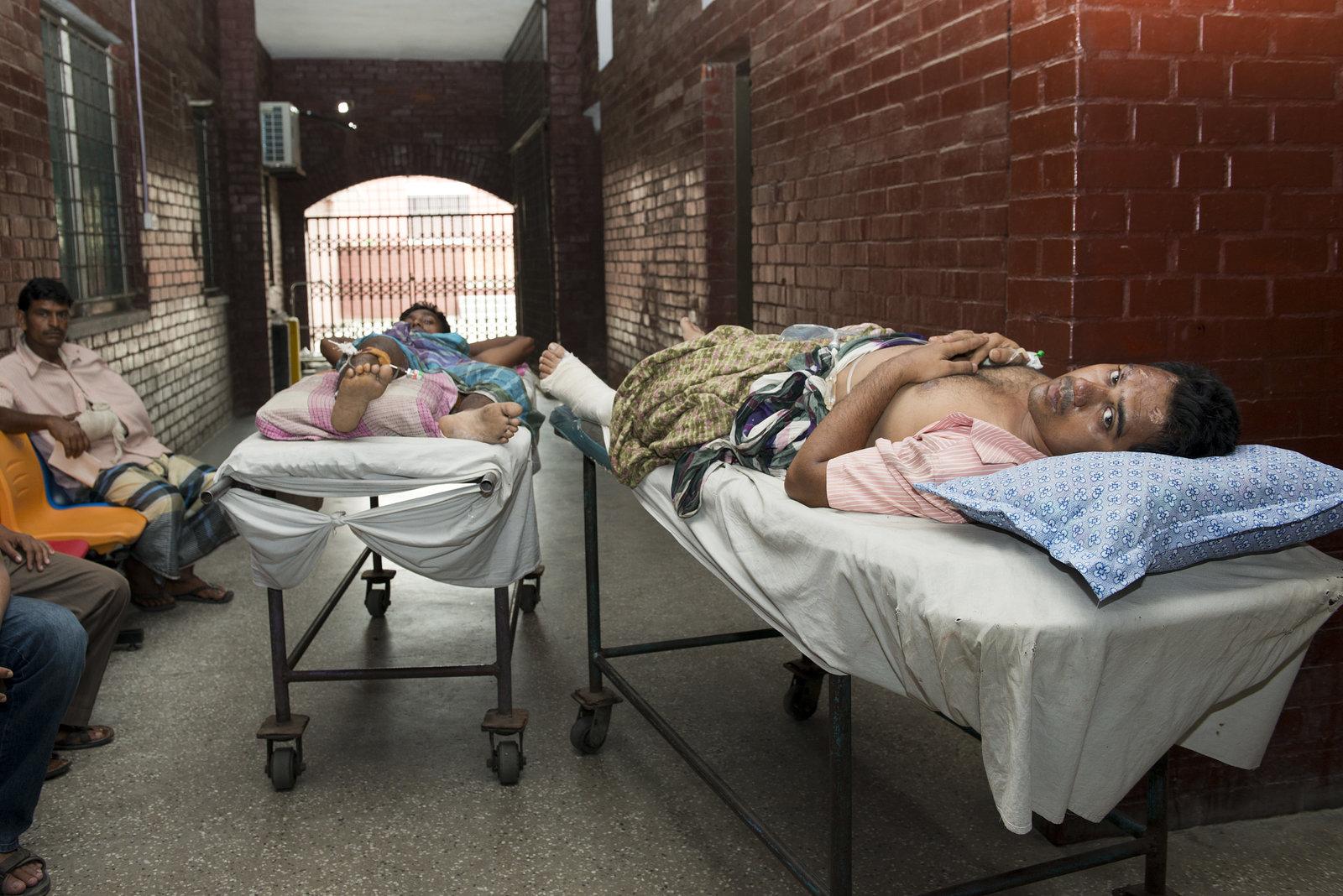 Patients in the Corridor