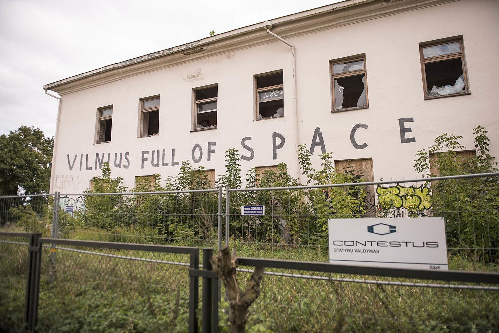 Vilnius Full Of Space