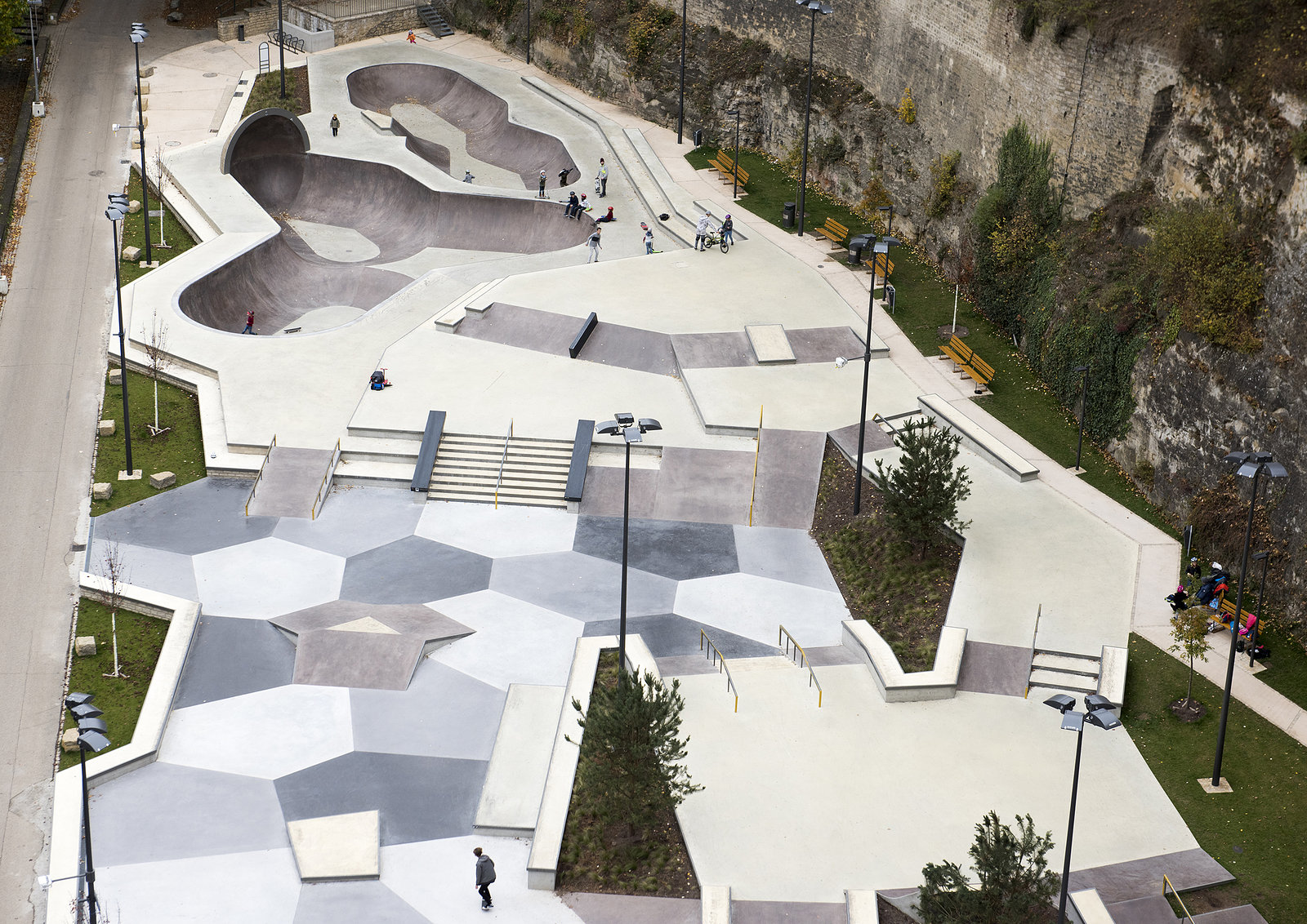 Skatepark Pettruss, Luxembourg