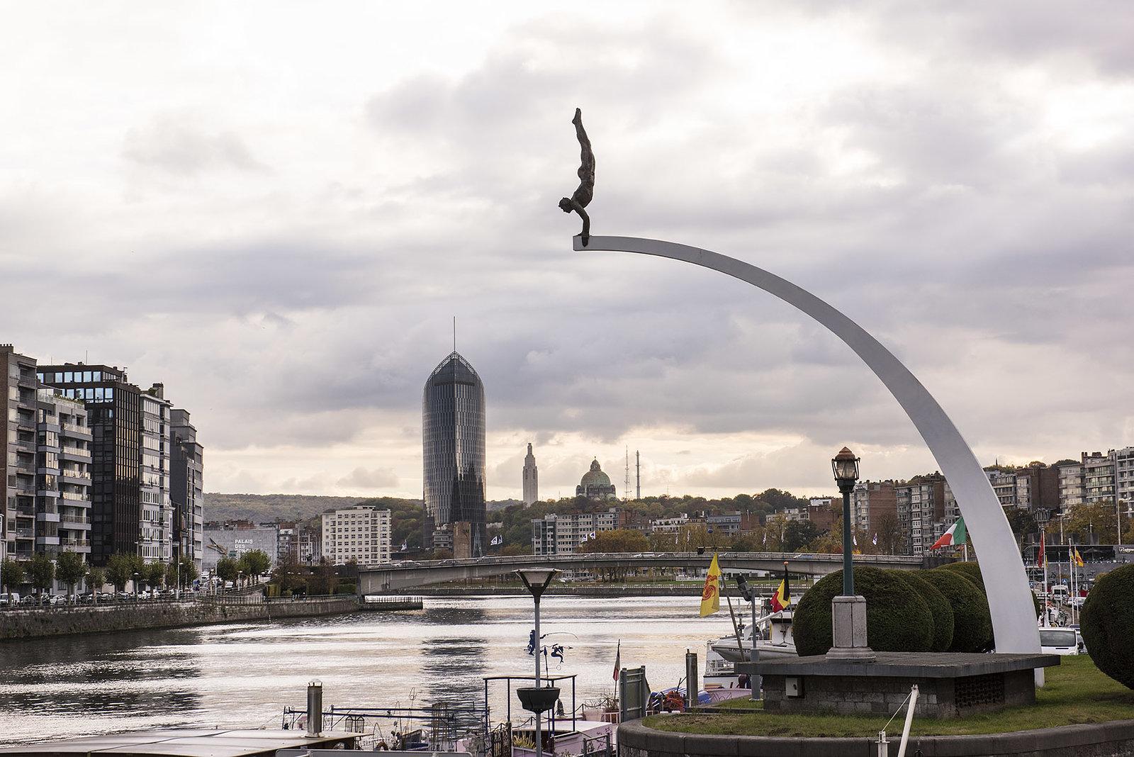 Statue Le Plongeur