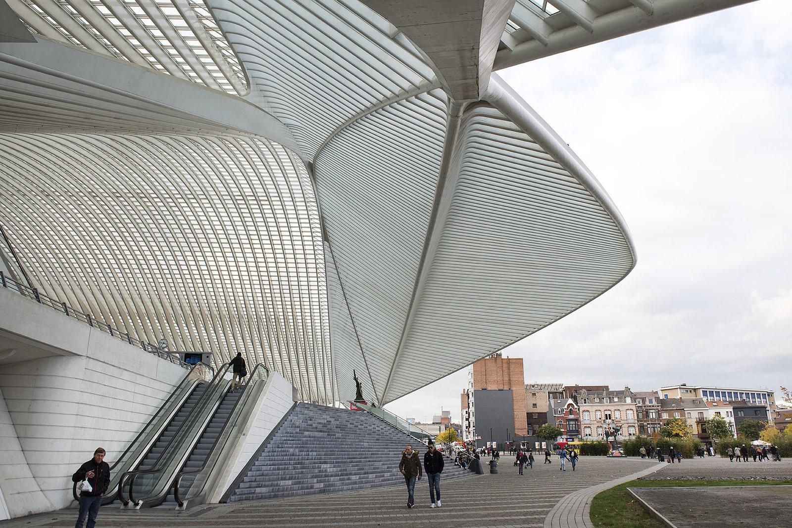 Gare Des Guillemins  Liege