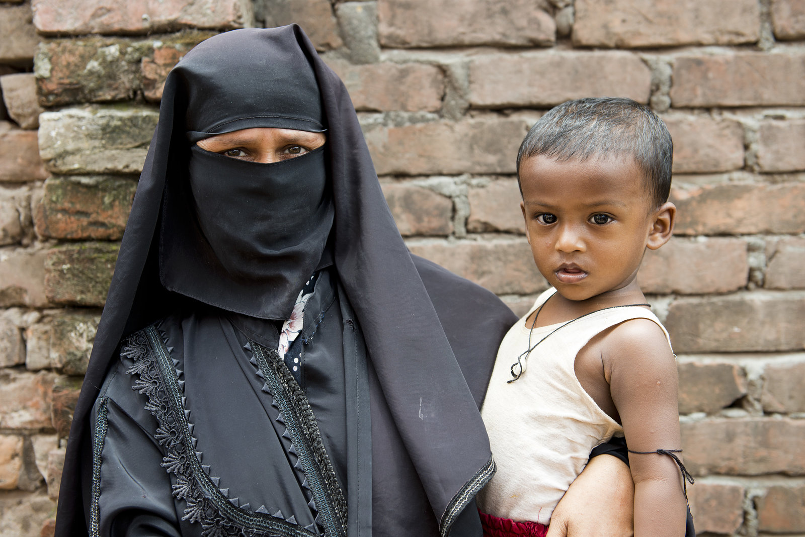 Bereaved Child with Grandmother