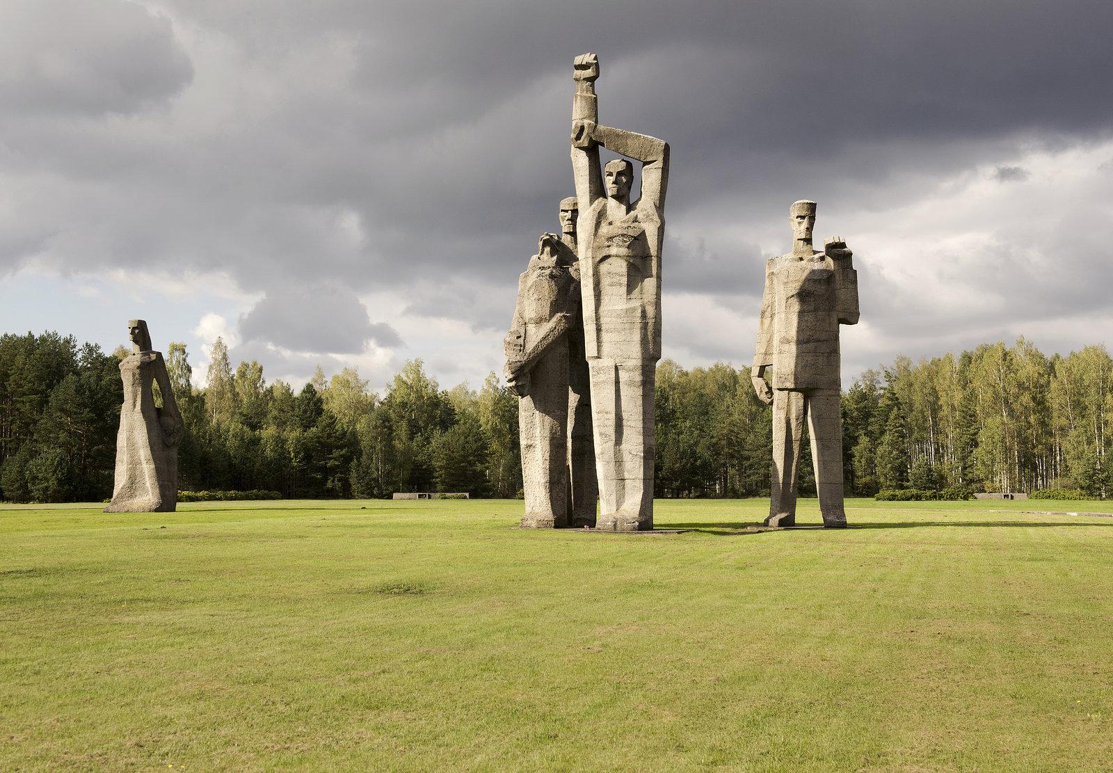 Salaspils Memorial Ensemble, Riga, Latvia